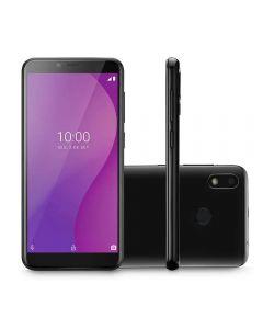 """Celular Smartphone Multilaser G 4G 32GB 5,5"""" - Preto"""