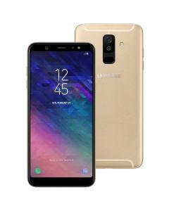 Celular Smartphone Samsung Galaxy A6 Plus Dual Chip - Dourado