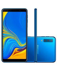 Celular Smartphone Samsung Galaxy A7 128GB Dual Chip  - Azul