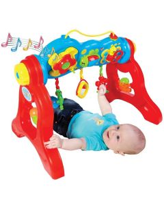 Centro de Atividades Infantil Play Gym Maral - Vermelho