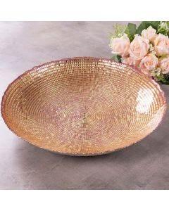Centro de Mesa 40cm Shine - Dourado