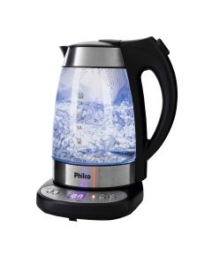 Chaleira Elétrica Philco Glass PCHD 1.7L Com Display Digital