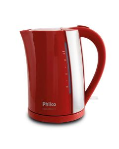 Chaleira Elétrica Philco 1,7L Vermelha PCH02V