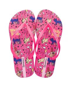 Chinelo Feminino Warner Play Ipanema - Rosa 37-38