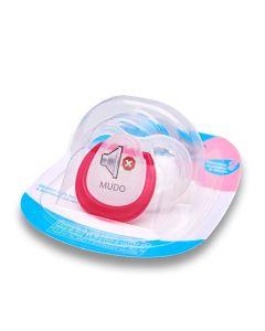 Chupeta BabyGo Fun Fase 2 - Rosa