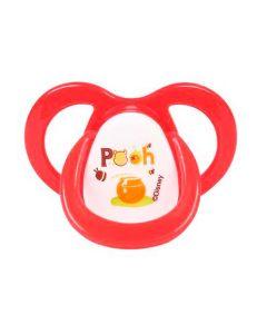 Chupeta Ventilada Fase Nº 2 Ortodôntica Pooh Disney - VERMELHO