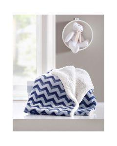 Cobertor Bebê Le Pettit Dom Corttex - Kin Marinho