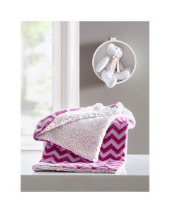 Cobertor Bebê Le Pettit Dom Corttex - Kin Pink