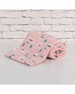 Cobertor Bebê Microfibra 90x100cm Yoyo Baby - Lhama