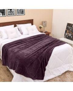 Cobertor Casal 1,80m x 2,20m Dobby - Chumbo