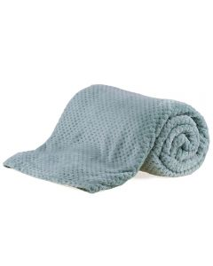 Cobertor Casal 1,80M X 2,20M Dobby - Verde Mint