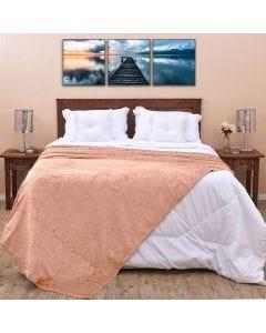 Cobertor Casal 1,80x2,20m Patrícia Foster - Rose
