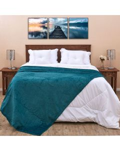Cobertor Casal 1,80x2,20m Patrícia Foster - Pinho