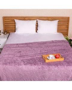 Cobertor Casal 1,80x2,20m Patrícia Foster - Lilac Acai