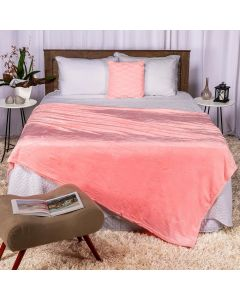 Cobertor Casal 180x220 Microfibra Flannel  - Bloom