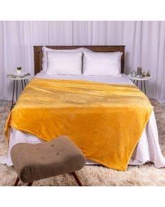 Cobertor Casal 180x220 Microfibra Flannel  - Camomila