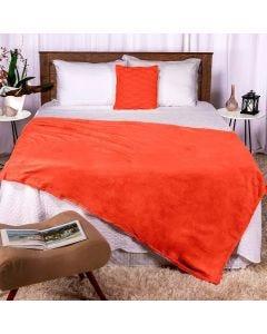 Cobertor Casal 180x220 Microfibra Flannel  - Mela