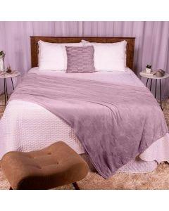Cobertor Casal 180X220 Microfibra Flannel  - Mistico