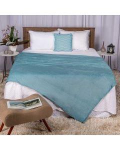 Cobertor Casal 180x220 Microfibra Yaris  - Denim