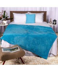 Cobertor Casal 180x220 Microfibra Yaris  - Indigo