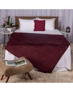 Cobertor Casal 180x220 Microfibra Yaris - Ameixa