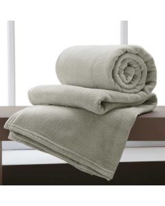 Cobertor Casal 180x220 Microfibra Yaris  - Cru