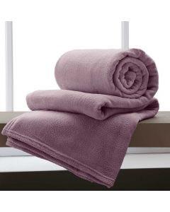 Cobertor Casal 180x220 Microfibra Yaris  - Lilas