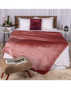 Cobertor Casal 180x220 Patricia Foster - Rose