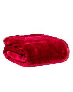 Cobertor Casal 180X220 Raschel Patricia Foster - Bordo