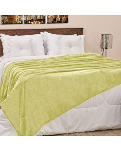 Cobertor Casal 180x220cm Microfibra Camesa - Verde Claro