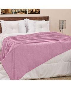 Cobertor Casal 180x220cm Microfibra Camesa - Rose
