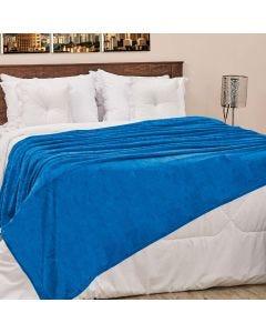 Cobertor Casal 180x220cm Microfibra Camesa - Azul