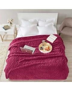 Cobertor Casal 2,20m x 1,80m Cervinia Home Design Corttex - Ornare Bordo