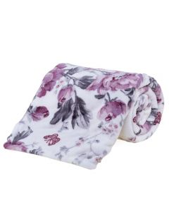 Cobertor Casal Microfibra Estampado Yaris - Noblesse Rose