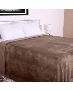 Cobertor Casal Microfibra Home Design Corttex - Taupe