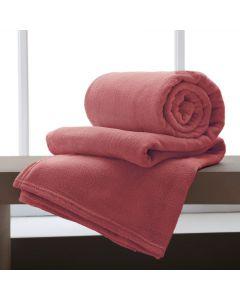 Cobertor Casal Microfibra Home Design Corttex - Batom