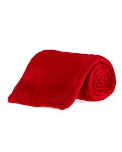 Cobertor Casal Microfibra Yaris - Vermelho New