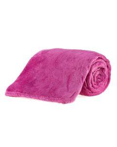 Cobertor Casal Microfibra Yaris - Rose New