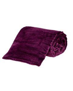 Cobertor Casal Microfibra Yaris - Beringela