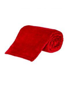 Cobertor Casal Microfibra Yaris - Vermelho
