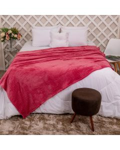 Cobertor de Casal 1,80x2,20m Canelado - Batom