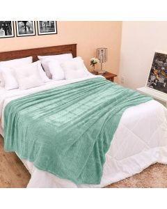 Cobertor King 2,40x2,60m Dobby - Verde Mint