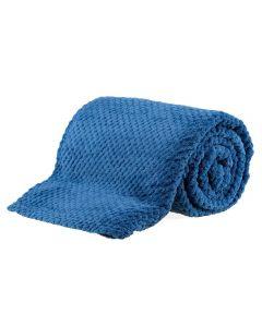 Cobertor King 2,40X2,60M Dobby - Indigo