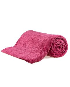 Cobertor King Retro 2,40X2,60M Patrícia Foster - Batom New