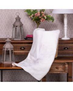 Cobertor Microfibra Casal Liso Yaris - Off White