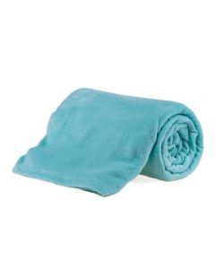 Cobertor Microfibra Solteiro Liso Yaris - Acqua