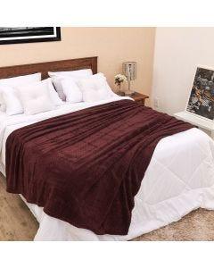 Cobertor Queen 2,20m x 2,40m Dobby - Café