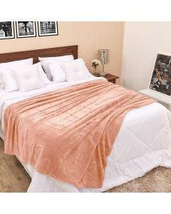 Cobertor Queen 2,20m x 2,40m Dobby - Rose