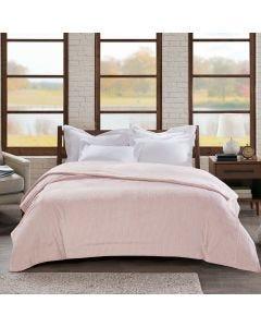 Cobertor Queen 2,20x2,40 Ilford Home Design Corttex - Rosa Malva