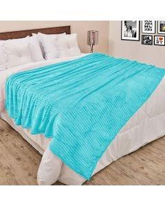 Cobertor Queen 2,20x2,40m Canelado - Acqua